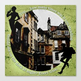 Jesper and Wylan - Every Time Canvas Print