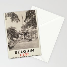 Vintage poster - Liege Stationery Cards