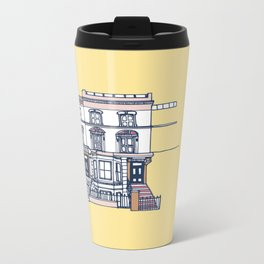 'Notting Hill' house print Metal Travel Mug