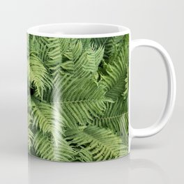 Fern Leaves Photography Coffee Mug