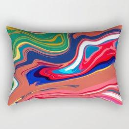 Life Cartoon Rectangular Pillow
