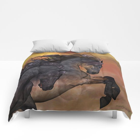 HORSES - On sugar mountain Comforters