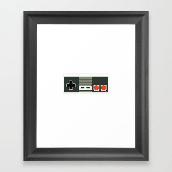 Simply NES Framed Art Print