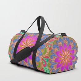 Lotus Bloom Duffle Bag