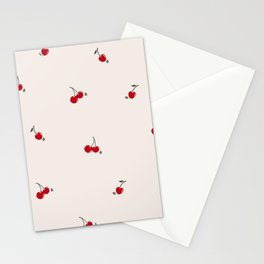Dancin' Cherry Print Stationery Cards