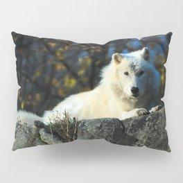 Sentinel: Arctic Wolf Pillow Sham