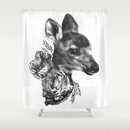 Fawn & Flora I Shower Curtain
