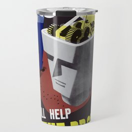 Ideas Will Help Beat The Promise -- WWII Travel Mug