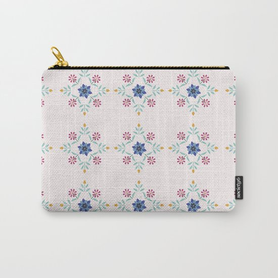 Floral Pattern #3 Carry-All Pouch