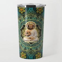 Shakyamuni Buddha - Enlightenment, Peace and Happiness Travel Mug