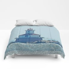 Indian Head Lighthouse PEI Comforters