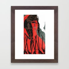 Knight of Swords Framed Art Print