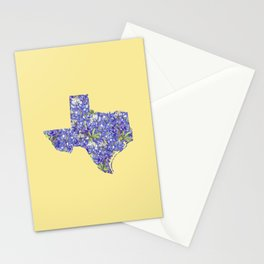 Texas in Flowers Stationery Cards