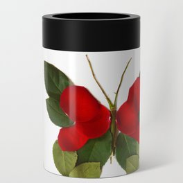 Butterfly-Rose Can Cooler