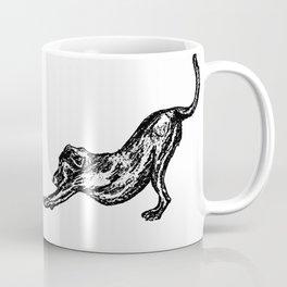 Stretch Sketch Coffee Mug