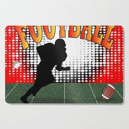 Football Tackle Cutting Board
