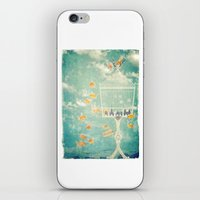cage iPhone & iPod Skins featuring The Cage by Sybille Sterk