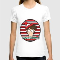 waldo T-shirts featuring Found Waldo! by EdwardJ