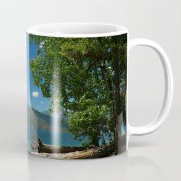Serene McDonald Lake Coffee Mug