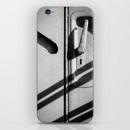 Door Handle Shadow Abstract iPhone Skin