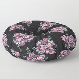 Purple Garden Floor Pillow