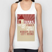 lilo and stitch Tank Tops featuring Ohana Means Family - Lilo & Stitch by Crafts and Dogs