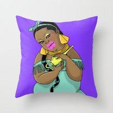 SJOKOLADE_3 Throw Pillow