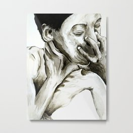 The hand that feeds you Metal Print