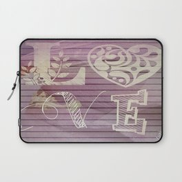 to love and be loved is everything Laptop Sleeve