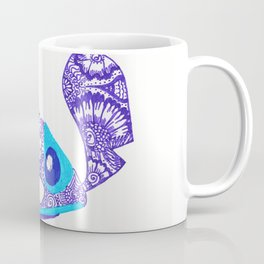 54. Henna STITCH for Easter Funny Face Coffee Mug