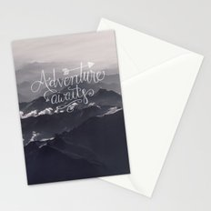 Adventure awaits - go for it! Stationery Cards