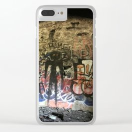 1910 Prison Camp Root Cellar Clear iPhone Case