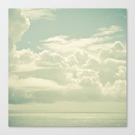 As the Clouds Gathered Canvas Print