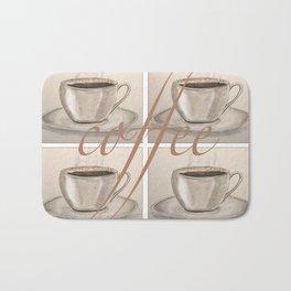 Cups of Coffee Bath Mat