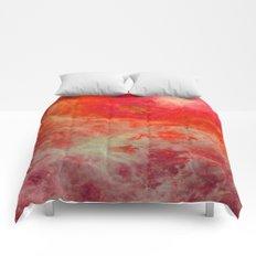 Red Orange Nebula : Galaxy Space Comforters