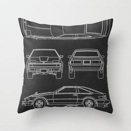 Celica XX Supra Throw Pillow
