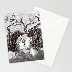 Bird Sings in The Apple Tree Stationery Cards
