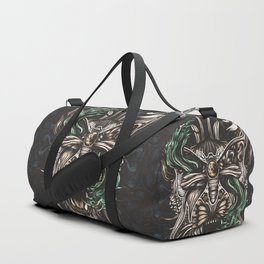Moth and tiger Duffle Bag