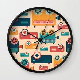 Retro Projectors Wall Clock