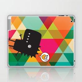 Woot! (Happy Dinosaur) Laptop & iPad Skin