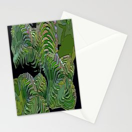 Sacred Geometry Crassula Buddha's Temple Stationery Cards