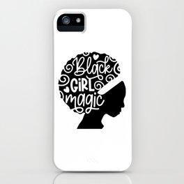 Black Girl Magic iPhone Case