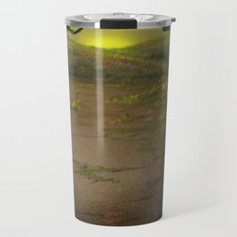 Forest Opening Out To A Meadow Travel Mug