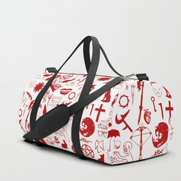 Buffy Symbology, Red Duffle Bag