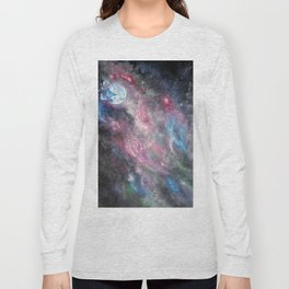 Space and the Moon Long Sleeve T-shirt