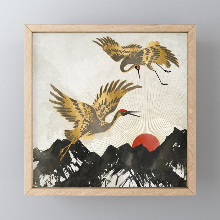 Elegant Flight II Framed Mini Art Print