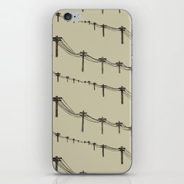 Metal Trees iPhone Skin