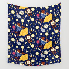 Be Our Guest Pattern Wall Tapestry