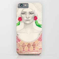 Two Red Flowers iPhone 6s Slim Case