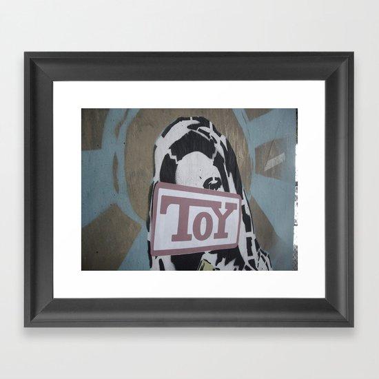 toy Framed Art Print